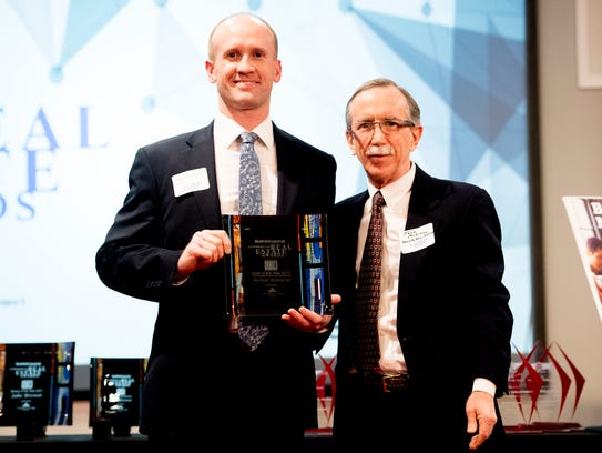 during the annual Commercial Real Estate Awards at
