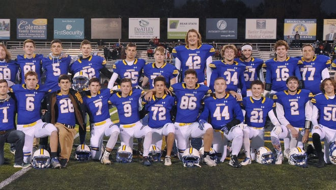 The Mountain Home High School football team began its season with 27 seniors, but eight senior starters were lost to injury as the Bombers finished 1-9.