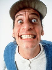 The irrepressible energy of Jim Varney as Ernest P. Worrell