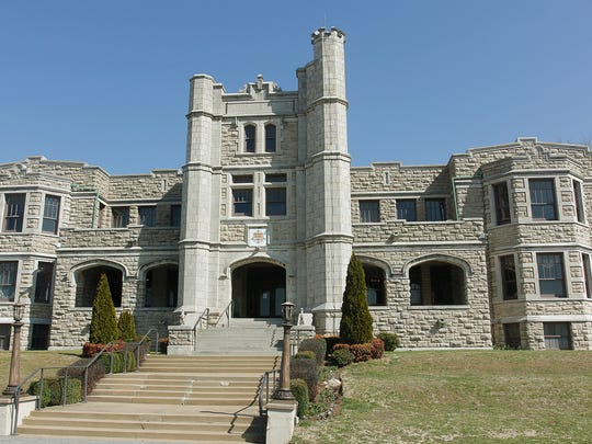 Pythian Castle is tucked away in a modest north Springfield neighborhood.