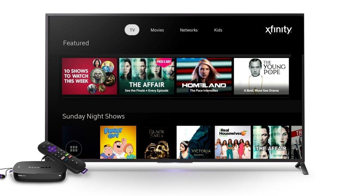 Roku Devices Get Comcast Xfinity Tv App