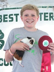 The annual Morris County 4-H Fair will feature terrific kids and terrific animals along with hot air balloon rides, carnival rides and awards from July 19--22, 2018.