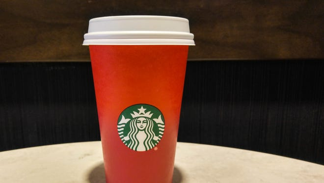 Starbucks' red holiday cups are stirring up controversy.