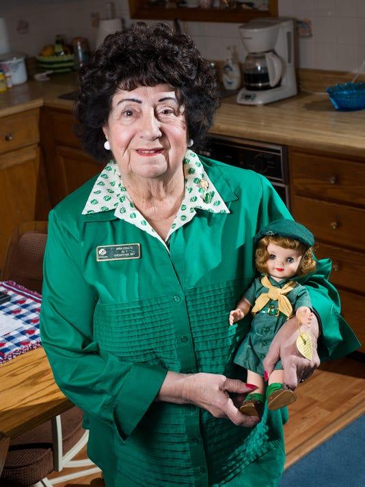 Anna Foultz Girl Scout