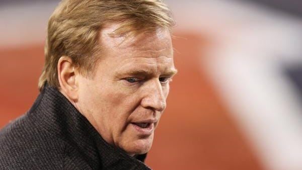 NFL commissioner Roger Goodell issued tougher penalties for domestic violence that could result in a lifetime ban after a player's second offense.