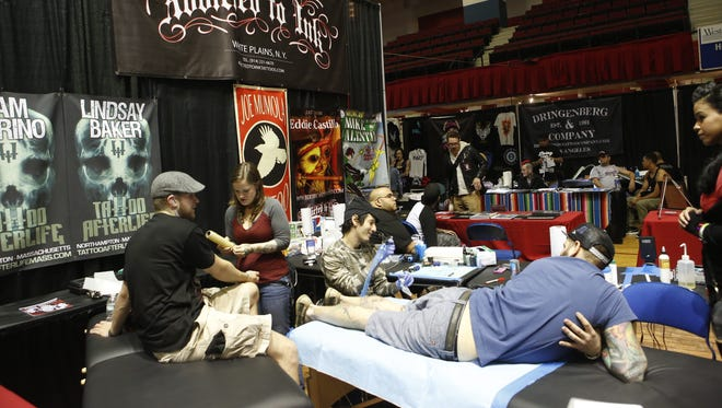 The Third Annual Westchester Tattoo Convention returns to the county center Oct. 16-18.