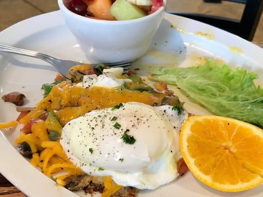 Breakfast skillet at The Gavel