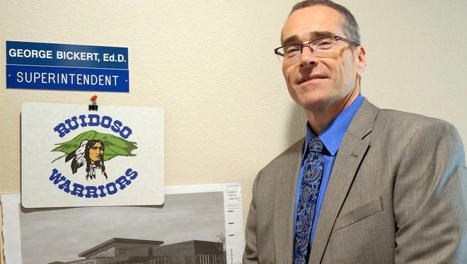 Dr. George Bickert, Superintendent of the Ruidoso School District.