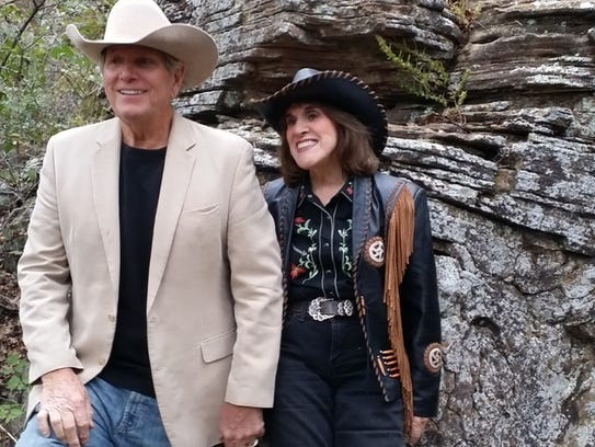 Ruth Buzzi and husband Kent Perkins on their Texas