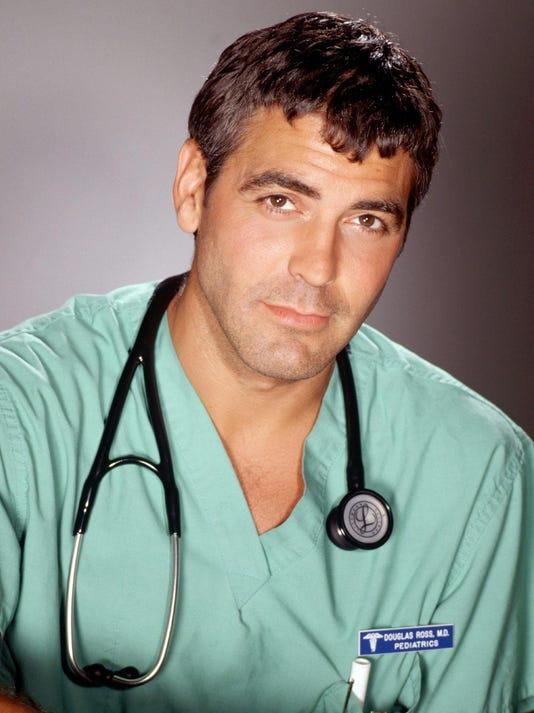 Clooney 1994 ER debut