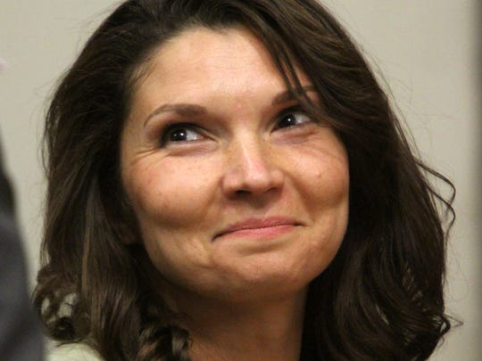 """Melanie McGuire, the so called """"suitcase killer"""" is scheduled to be back in court today seeking post conviction relief. She maintains her former high-profile attorney, Joseph Tacopina, could have done a better job during her 2007 trial. IN particular she feels her trial attorneys failed to consult and retain appropriate expert witnesses. She was convicted in April 2007 and sentenced to life in prison and must serve at least 63 1/2 years. She is incarcerated at the Edna Mahan Correctional Facility for Women in Hunterdon County.    McGuire appears in front of Judge Bradley Ferencz at Middlesex County Courthouse in New Brunswick.    On Thursday September 25,,2014 Photo: Mark R. Sullivan/Staff Photographer"""