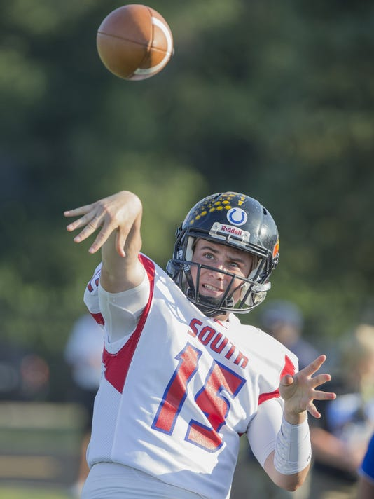 See images from some of the state's top graduated seniors in the North-South All-Star game