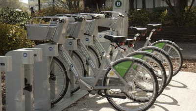 Two B-Cycle stations to move.