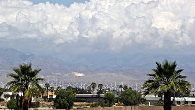 The Coachella Valley can expect some wind this week.