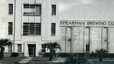 Spearman Brewing Company was located at 1600 Barrancas Ave. It operated from 1935 until 1964.