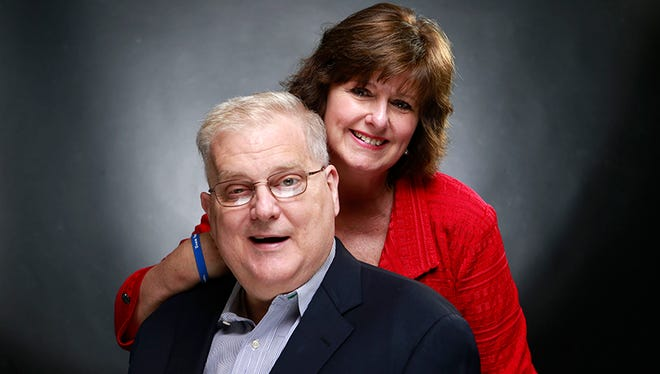 U.S. Rep. Alan Nunnelee, R-Miss., and his wife Tori, in a Nov. 6, 2014 photo.