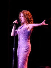 Bernadette Peters performs at the Bardavon 1869 Opera