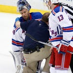 """Rangers believes Lundqvist's injury """"not serious"""""""