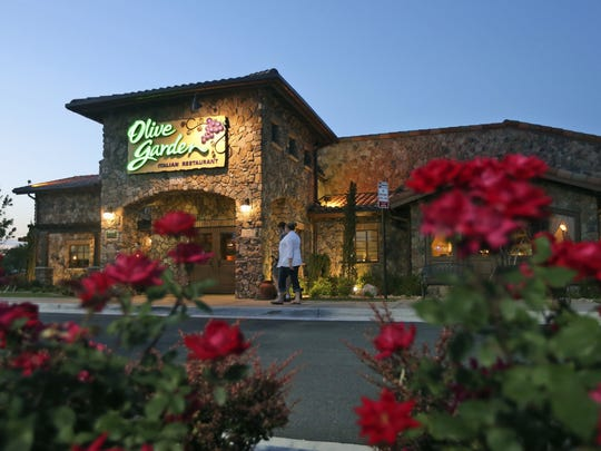 An Olive Garden Restaurant in Short Pump, Va.