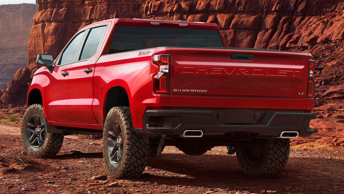 Truck chevy concept one truck Chevrolet Silverado gets new look for 2019 -- and lots of steel