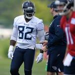 Titans' Delanie Walker among veterans setting 'full throttle' example for rookies