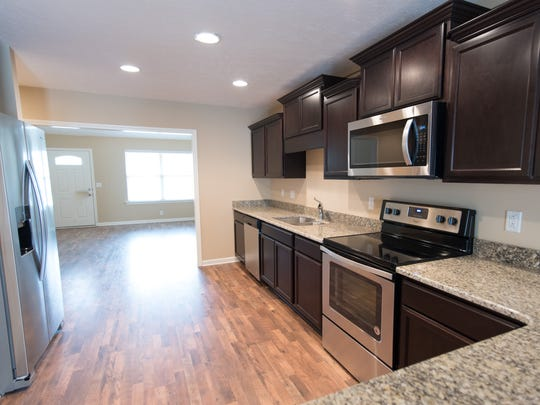 Ole South's townhomes come with a full amenity package, including kitchen appliances. Townhomes represent 40 percent of the company's work today and are expected to reach 60 percent soon.