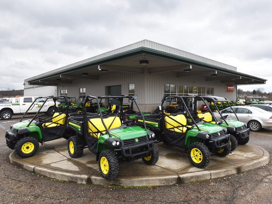 JD Equipment in Zanesville is expanding its store.