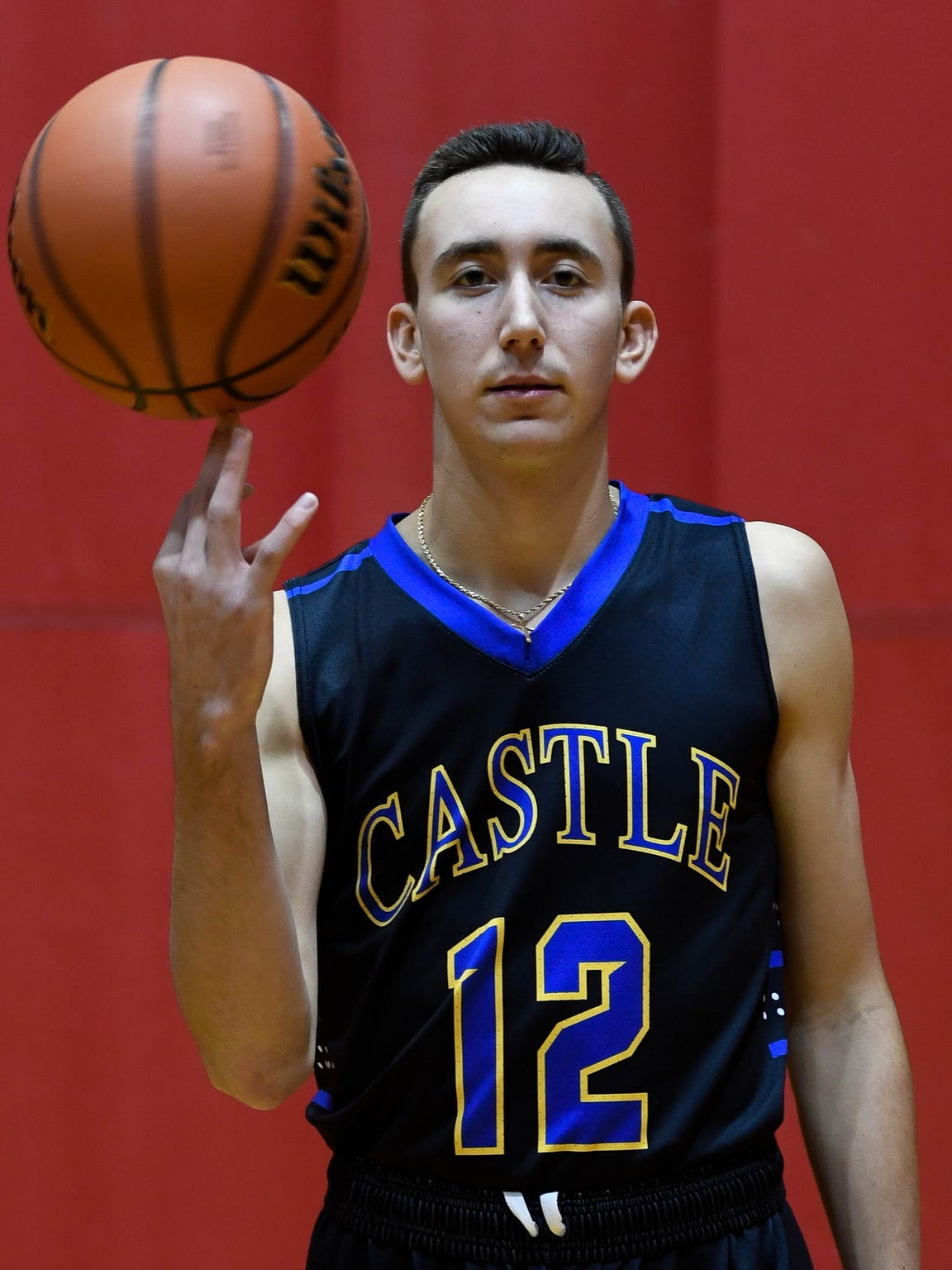 Castle Knights Alex Hemenway (12), Tuesday October