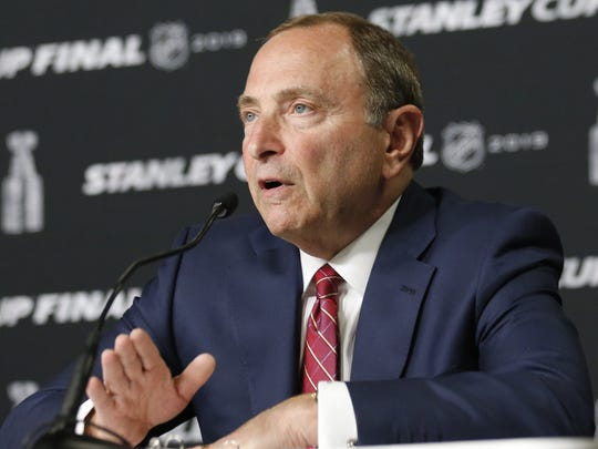 NHL Commissioner Gary Bettman said the league is cracking down on misbehavior and abuse by head coaches.
