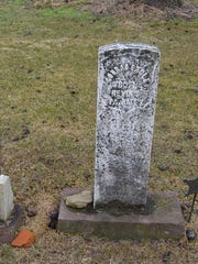 Lying side-by-side in the Hoke's Meeting House Cemetery along Route 72 in North Cornwall Township are the graves of Conrad and Susan Engle. Conrad was a veteran of the Civil War.