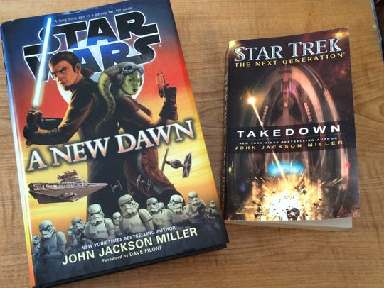 Two of John Jackson Miller's most recent novels are