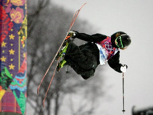 U.S. skier David Wise wins gold in halfpipe