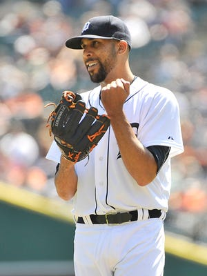 The Tigers have won all three of David Price's starts this season.