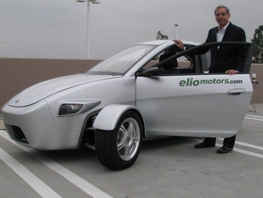 Start up aims for cheap 84 mpg three wheel car
