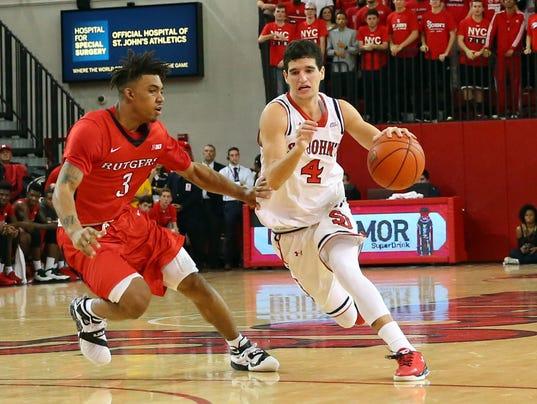 NCAA Basketball: Rutgers at St. John