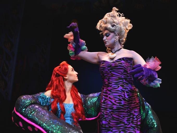 Dominique Solano As Ariel And Leyla Corbett Ursula