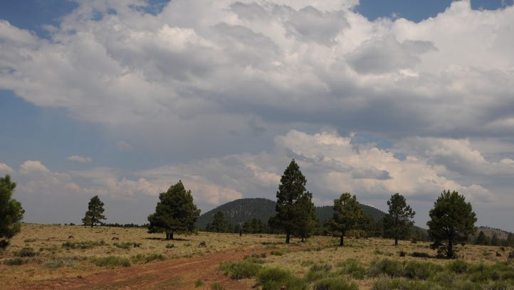 A-1 Mountain is a 300,000-year-old cinder cone north