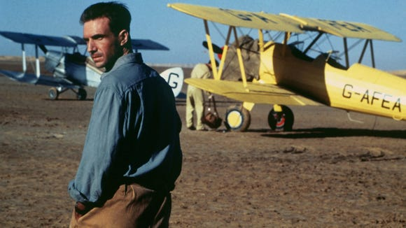 "Ralph Fiennes stars as an adventurous cartographer in ""The English Patient."""