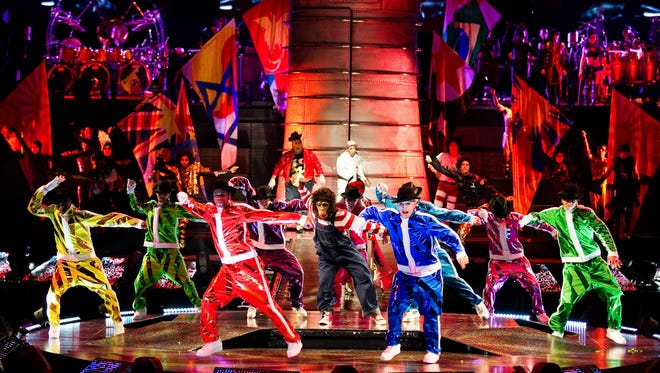 Michael Jackson: The Immortal World Tour comes to the Blue Cross Arena.