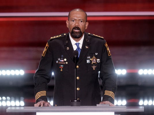 David A. Clarke Jr. resigns as Milwaukee County sheriff