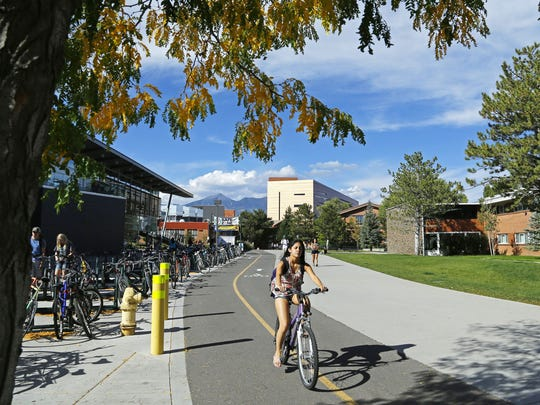 Arizona has three state universities: Northern Arizona University (shown here), University of Arizona and Arizona State University.