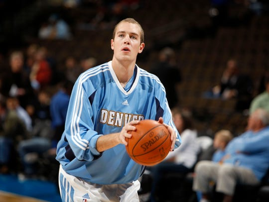 Nick Fazekas had a brief stay in the NBA before finding