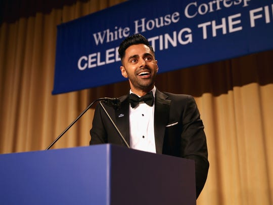 Hasan Minhaj also hosted the White House Correspondents' Association Dinner last year.