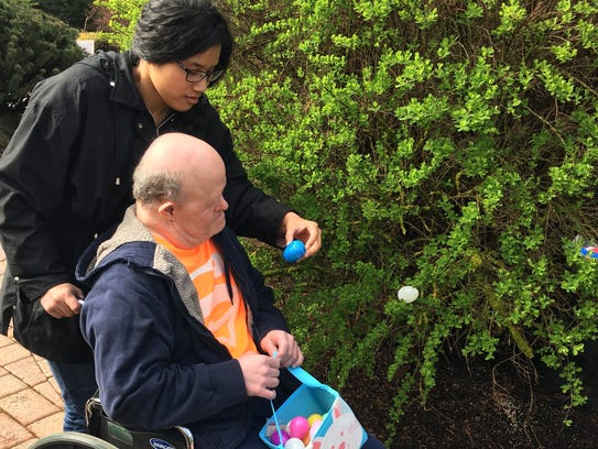 Shangri-La is hosting an accessible egg hunt for people