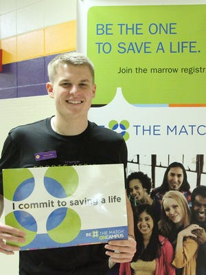Dillon Huth, a senior athletic training student at the University of Wisconsin-Stevens Point, was awarded the 2014 College of Professional Studies Heroes Award for donating bone marrow to a stranger through the Be The Match Foundation. A News-Herald Media reporter this week wrote about becoming a potential donor.
