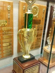 North High School's 1960 Evansville City baseball championship now has a physical presence after more than 55 years.