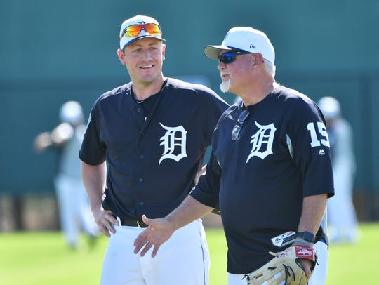 Jordan Zimmermann and Ron Gardenhire