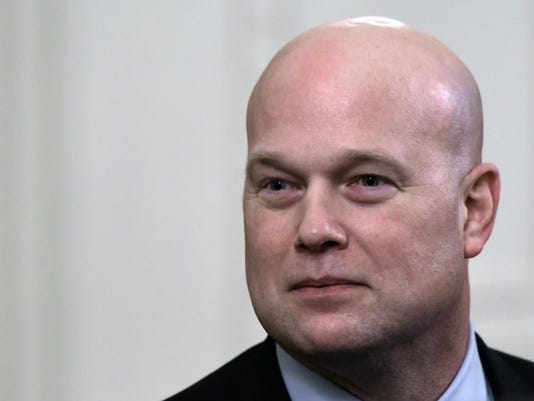 Trump says he wouldnít overrule Whitaker if the acting attorney general limits Mueller's investigation