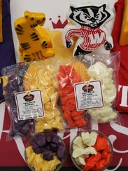 Game-themed cheese and curds.