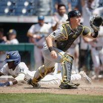 Photos: Iowa vs. Michigan baseball